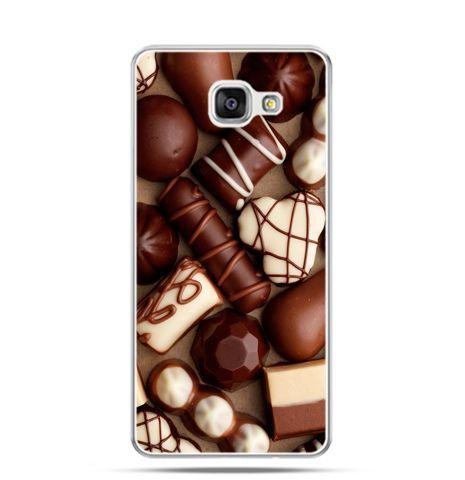 Etui na Samsung Galaxy A3 (2016) A310 - czekoladki