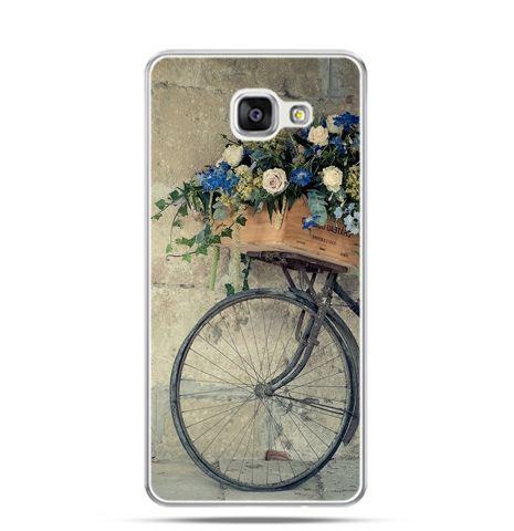 Etui na Samsung Galaxy A3 (2016) A310 - rower z kwiatami