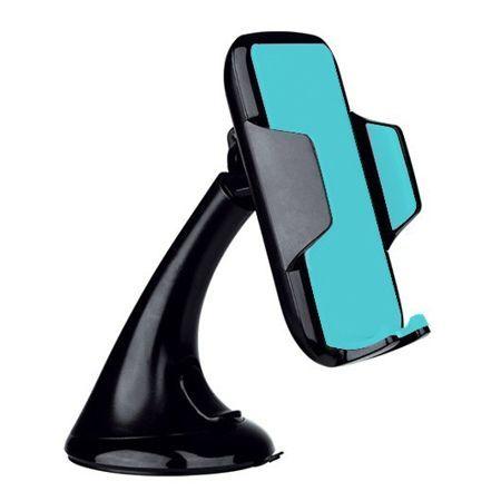 Uniwersalny uchwyt na telefon samochodowy VEG S-Style - czarny.
