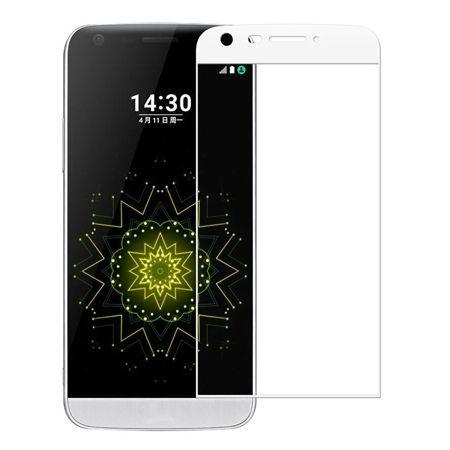 LG G5 - Hartowane szkło na cały ekran - biały