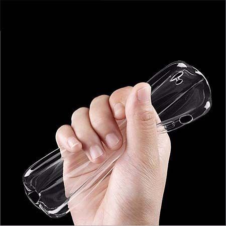 Etui na iPhone 7 silikonowe crystal case - bezbarwne.
