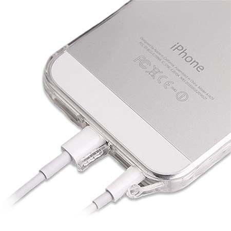 Etui na iPhone 5 / 5s ultra slim przezroczyste crystal case DustCup.