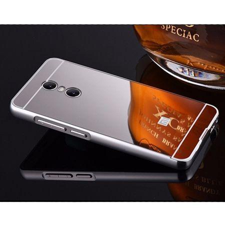 Mirror bumper case na Xiaomi Redmi Note 4 Pro - srebrny.