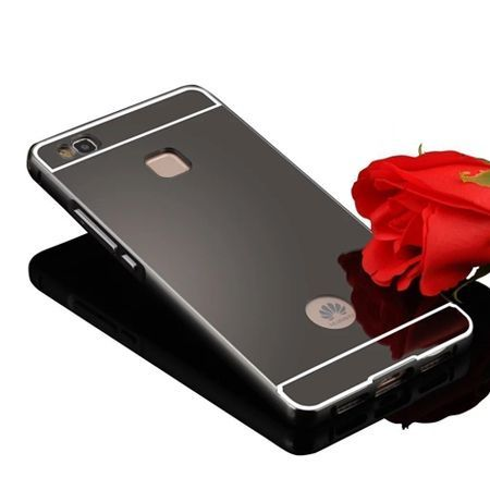 Mirror bumper case na Huawei P9 Lite - Czarny