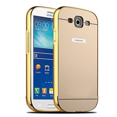 Mirror bumper case na Galaxy S3 - Złoty