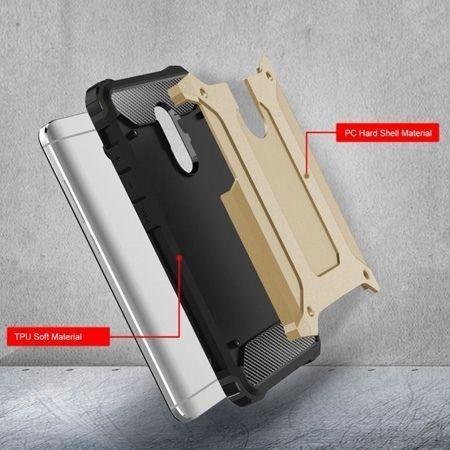 Pancerne etui na Xiaomi Redmi Note 4 Pro - złoty.