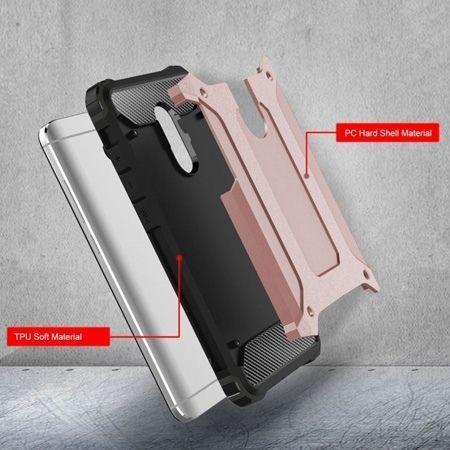 Pancerne etui na Xiaomi Redmi Note 4 Pro - różowy.