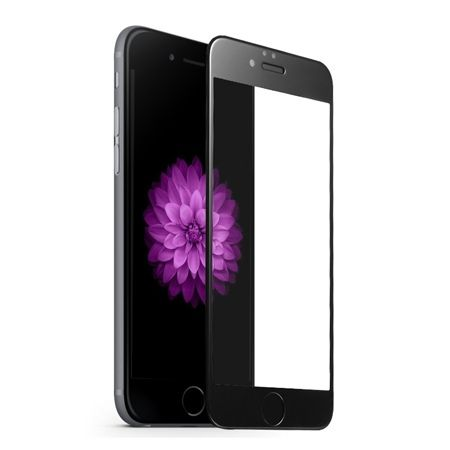 Hartowane szkło na cały ekran 3d iPhone 6 / 6s - czarny.