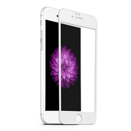 Hartowane szkło na cały ekran 3d iPhone 6 Plus / 6s Plus - biały.