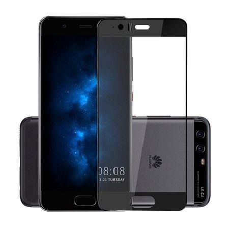 Hartowane szkło na cały ekran 3d Huawei P10 - czarny.