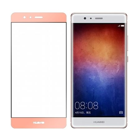 Hartowane szkło na cały ekran 3d Huawei P9 - różowy.