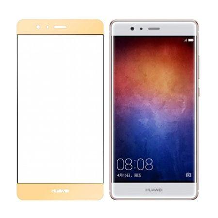 Hartowane szkło na cały ekran 3d Huawei P9 - złoty.
