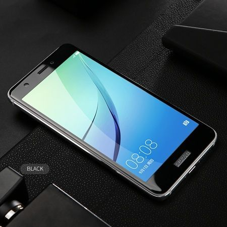 Hartowane szkło na cały ekran 3d Huawei Nova - czarny.