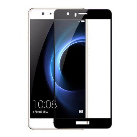 Hartowane szkło na cały ekran 3d Huawei Honor 8 - czarny.