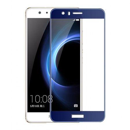 Hartowane szkło na cały ekran 3d Huawei Honor 8 - niebieski.