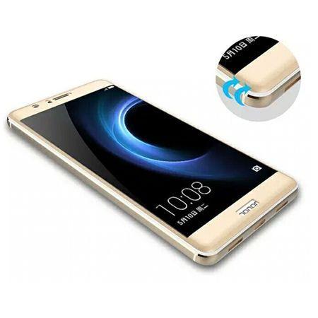Hartowane szkło na cały ekran 3d Huawei Honor 8 - złoty.