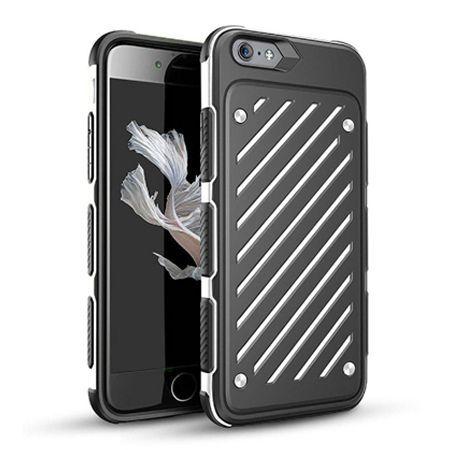 Pancerne etui Shockproof na iPhone 6 / 6s - Biały.