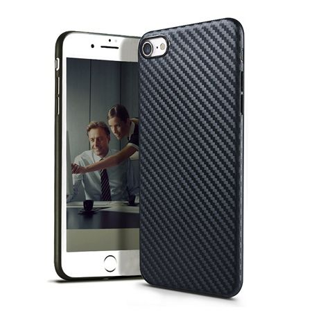 iPhone 5 / 5s etui silikonowe Slim TPU Carbon.