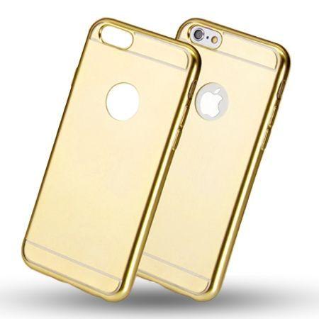 Etui na iPhone 5 / 5s platynowane Full - złoty.
