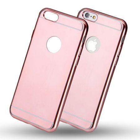 Etui na iPhone 5 / 5s platynowane Full - różowy.