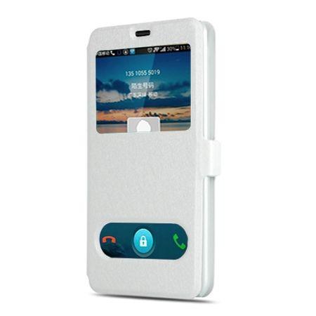 Samsung Galaxy A5 2017 etui Flip Quick View z klapką dwa okienka - Biały.