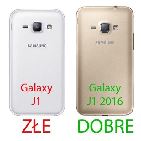 Mirror bumper case na Galaxy J1 2016r - Srebrny