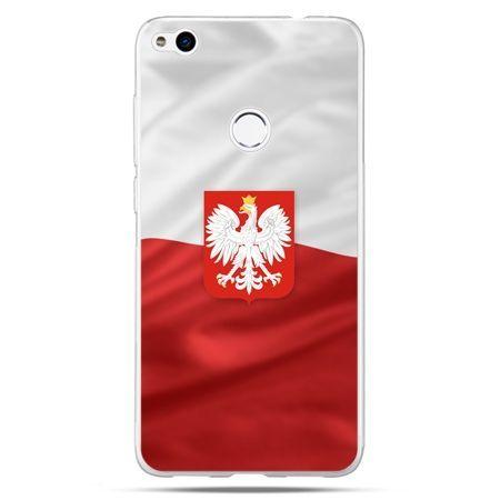 Etui na Huawei P9 Lite 2017 - flaga Polski z godłem