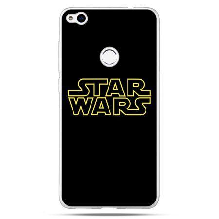 Etui na Huawei P9 Lite 2017 - Star Wars złoty napis