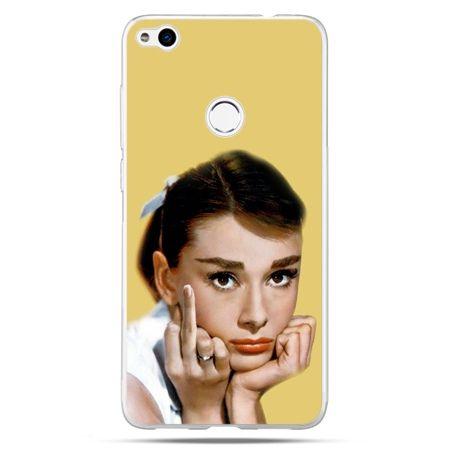 Etui na Huawei P9 Lite 2017 - Audrey Hepburn Fuck You