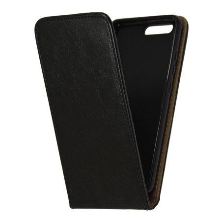 Etui na telefon Huawei P10 - kabura z klapką - czarny