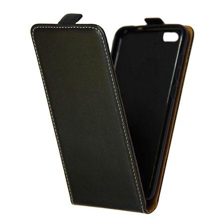 Etui na telefon Xiaomi Mi5 - kabura z klapką - czarny