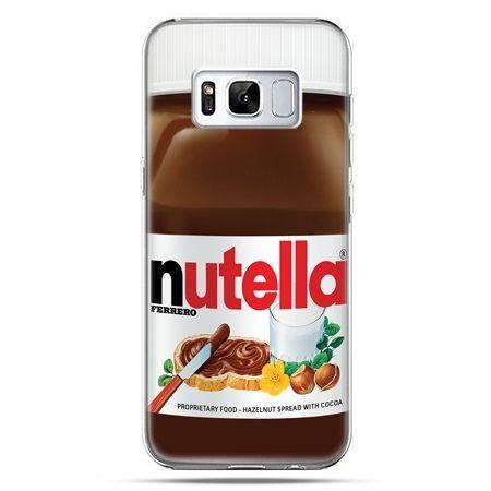 Etui na telefon Samsung Galaxy S8 - Nutella czekolada słoik