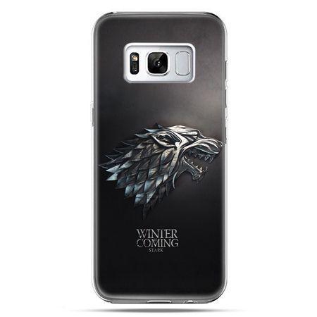 Etui na telefon Samsung Galaxy S8 - Gra o Tron Stark Winter is coming