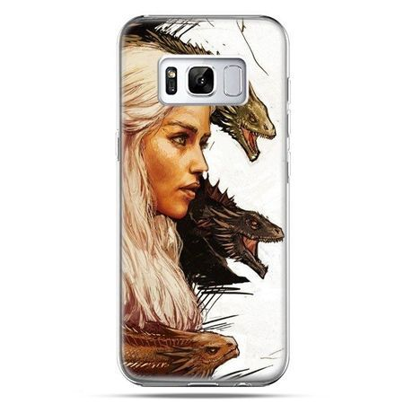 Etui na telefon Samsung Galaxy S8 - Gra o Tron Daenerys Targaryen