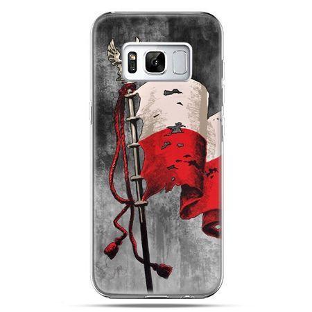 Etui na telefon Samsung Galaxy S8 - patriotyczne flaga Polski