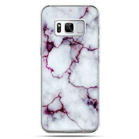 Etui na telefon Samsung Galaxy S8 - różowy marmur