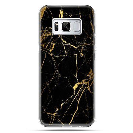 Etui na telefon Samsung Galaxy S8 - złoty marmur
