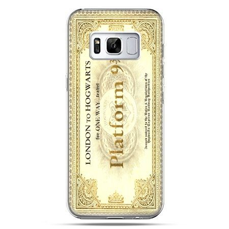Etui na telefon Samsung Galaxy S8 - bilet platform 9 3/4 Harry Potter