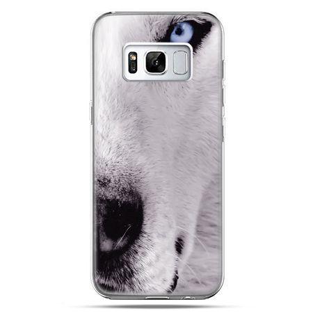 Etui na telefon Samsung Galaxy S8 - wilk