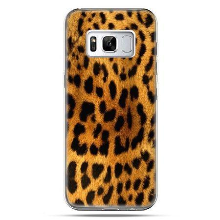 Etui na telefon Samsung Galaxy S8 - skóra lamparta