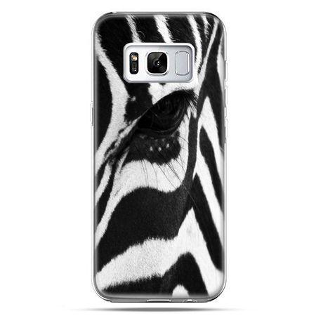 Etui na telefon Samsung Galaxy S8 - zebra