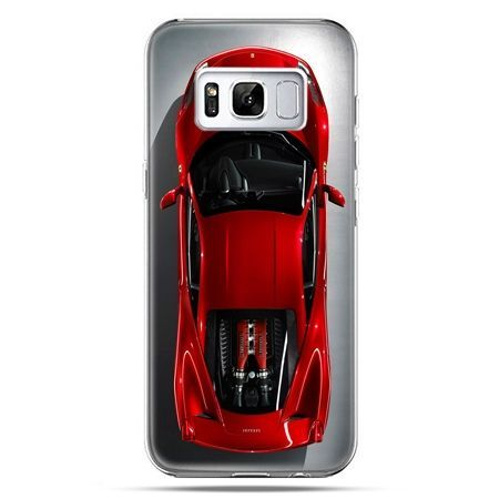 Etui na telefon Samsung Galaxy S8 - czerwone Ferrari
