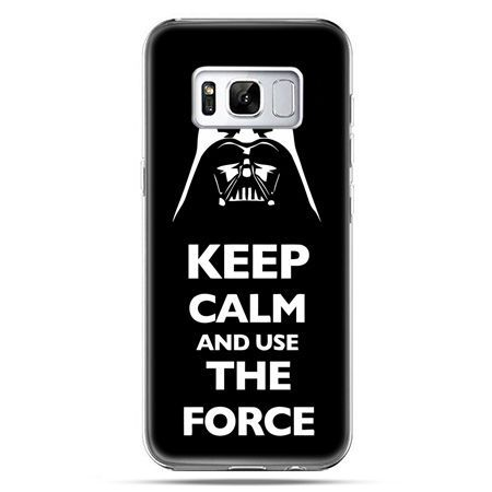 Etui na telefon Samsung Galaxy S8 - Keep calm and use the force