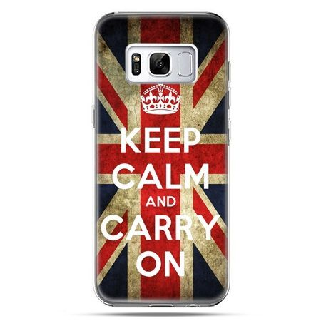 Etui na telefon Samsung Galaxy S8 - Keep calm and carry on
