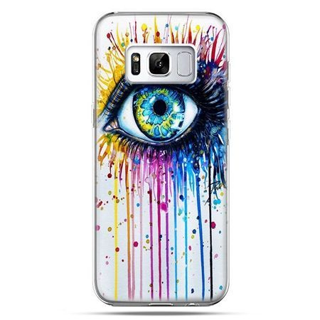 Etui na telefon Samsung Galaxy S8 Plus - kolorowe oko