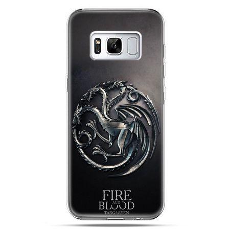 Etui na telefon Samsung Galaxy S8 Plus - Gra o Tron Targaryen house herb