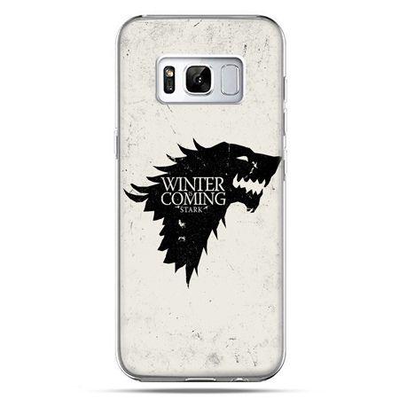 Etui na telefon Samsung Galaxy S8 Plus - Gra o Tron Winter is coming czarna