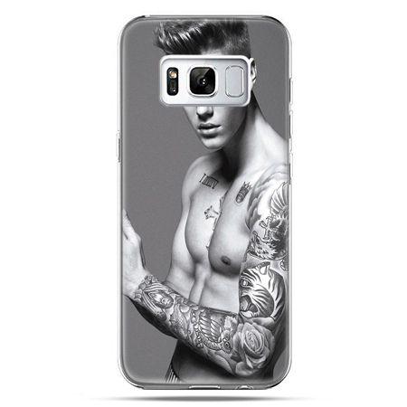Etui na telefon Samsung Galaxy S8 Plus - Justin Bieber w tatuażach