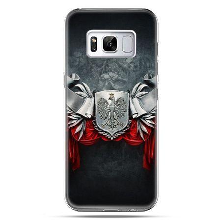 Etui na telefon Samsung Galaxy S8 Plus - stalowe godło