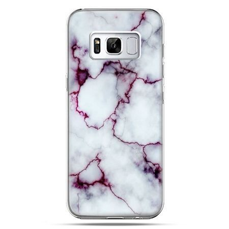 Etui na telefon Samsung Galaxy S8 Plus - różowy marmur